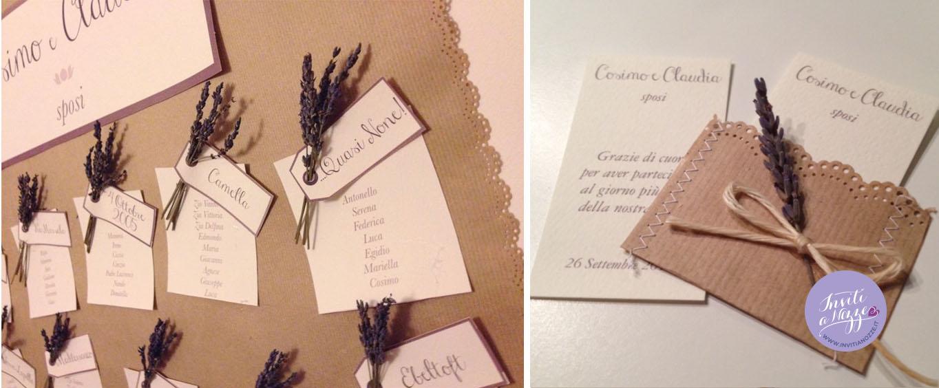 Ben noto partecipazione matrimonio sacchetto del pane – Inviti a nozze NZ74