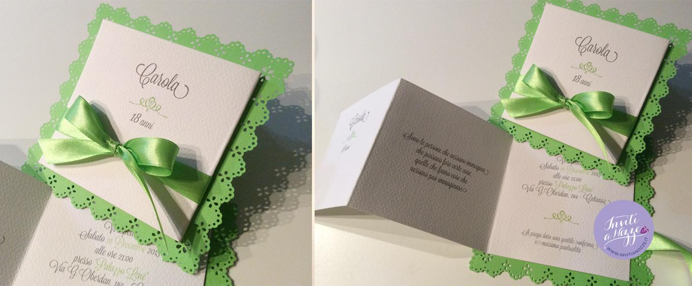 Top invito-18-anni-verde-mela – Inviti a nozze JM87