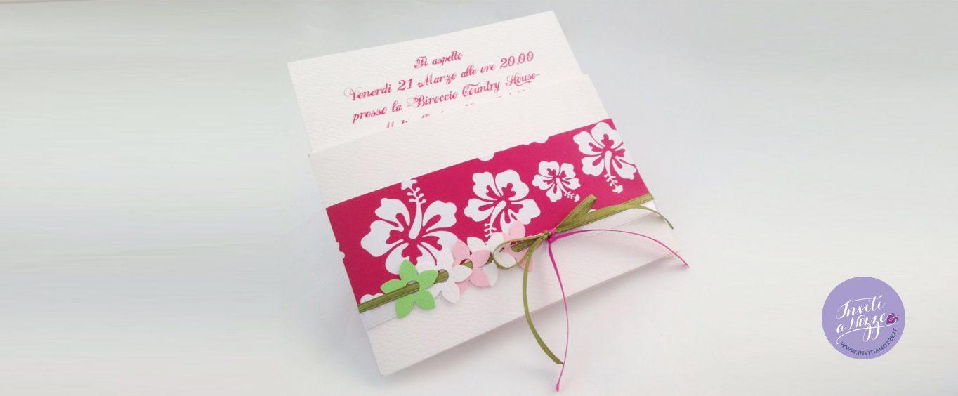 Top invito compleanno 18 anni hawaiano – Inviti a nozze GW92