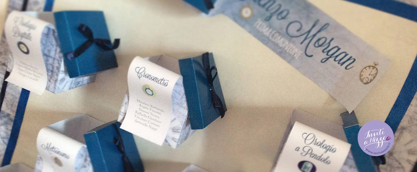 Conosciuto Tableau scatoline prima comunione – Inviti a nozze AK55