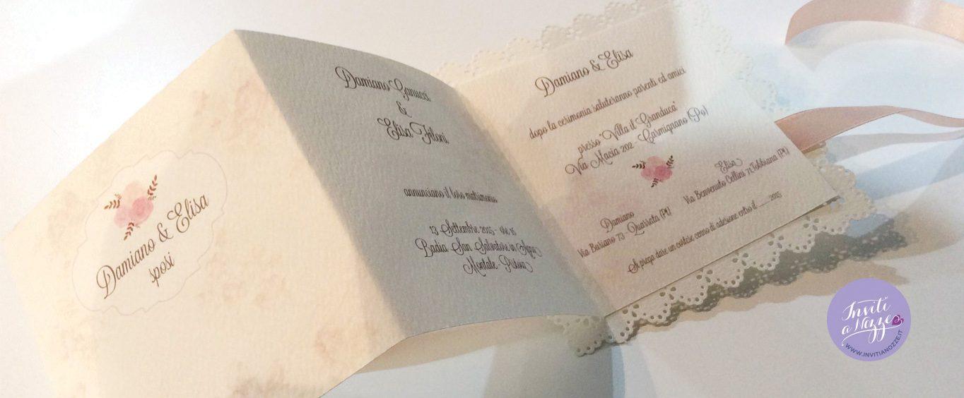 partecipazione matrimonio flore background
