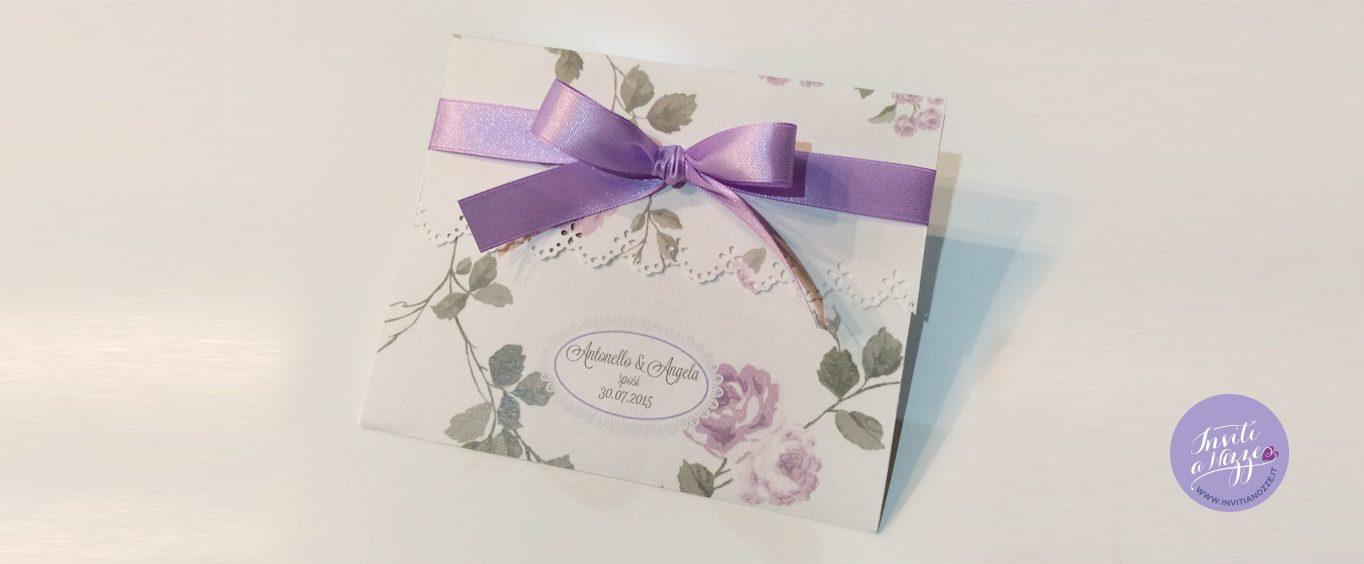 Matrimonio In Lilla : Partecipazione matrimonio fiori lilla u inviti a nozze