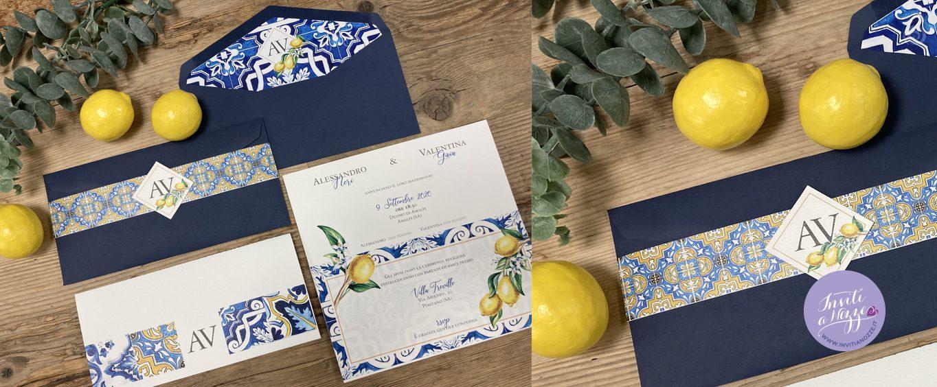 Partecipazione tema Amalfi e limoni