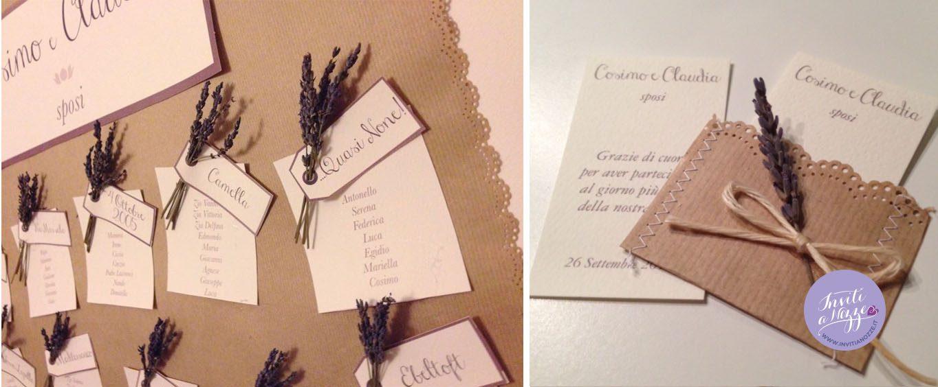 Partecipazioni Matrimonio Lavanda.Partecipazione Matrimonio Sacchetto Del Pane Inviti A Nozze