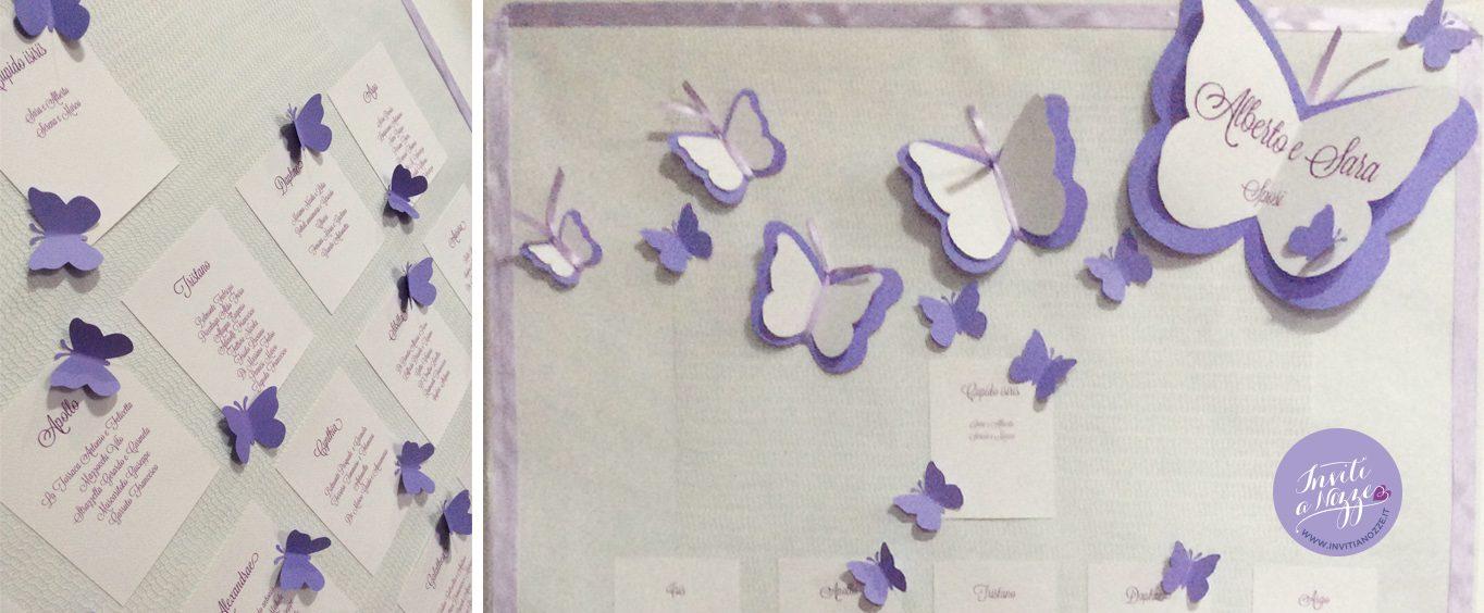 tableau mariage farfalle grandi