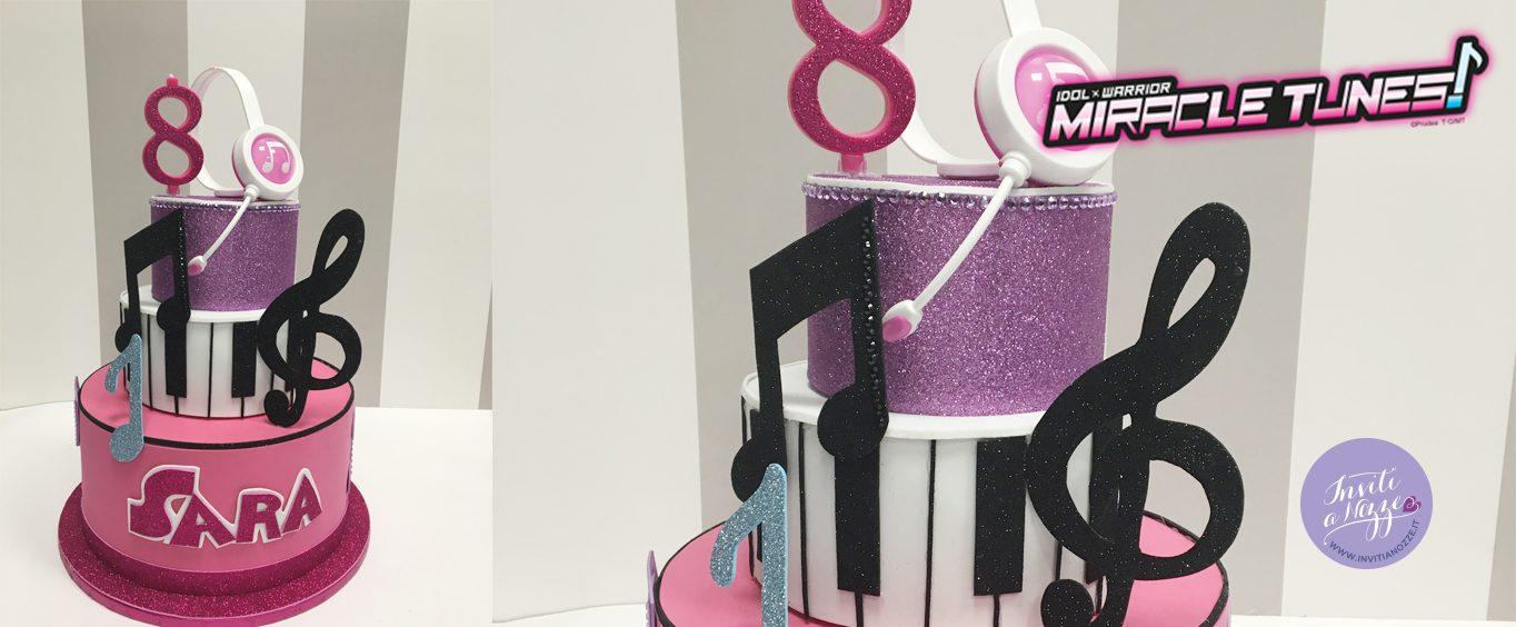 torta finta decorativa miracle tunes